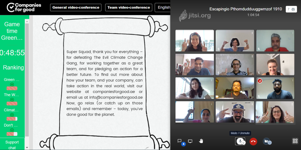 Online activity: The Climate Change Challenge Our new virtual activities help employees do good