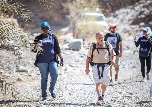 Wadi Adventure and Desert Cleanup